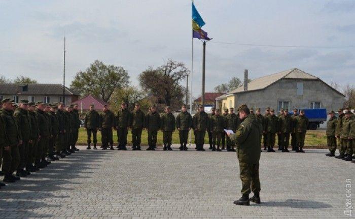 НаюгОдесской области стянули Национальную гвардию