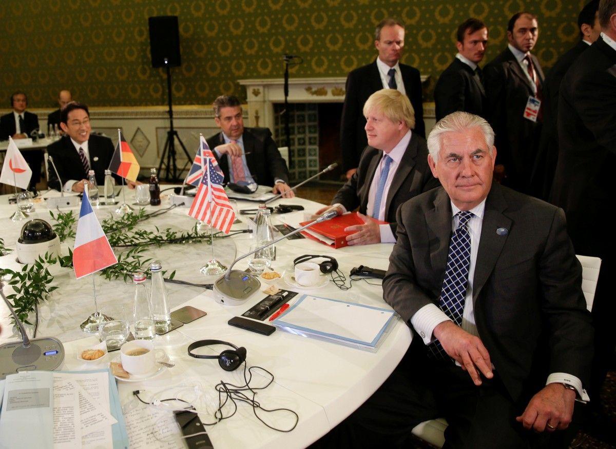 Руководителя МИД G7 не решили орасширении санкций против РФ
