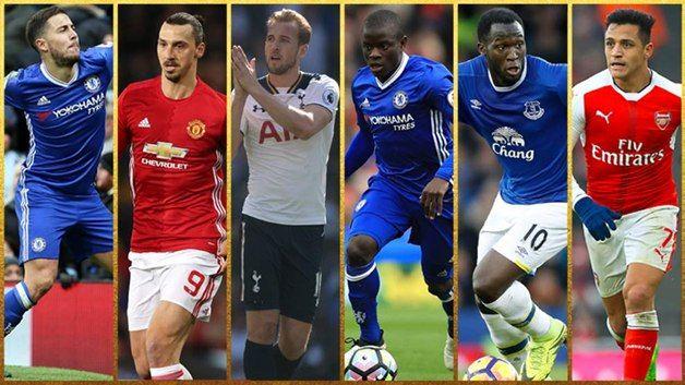 Названы шесть претендентов напремию игрока сезона в Британии поверсии профсоюза