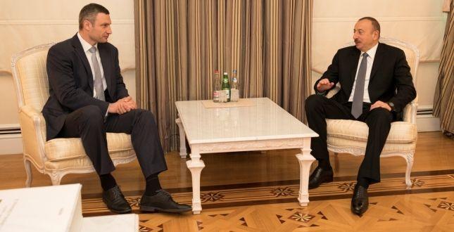 Кличко зрабочим визитом посетит Азербайджан