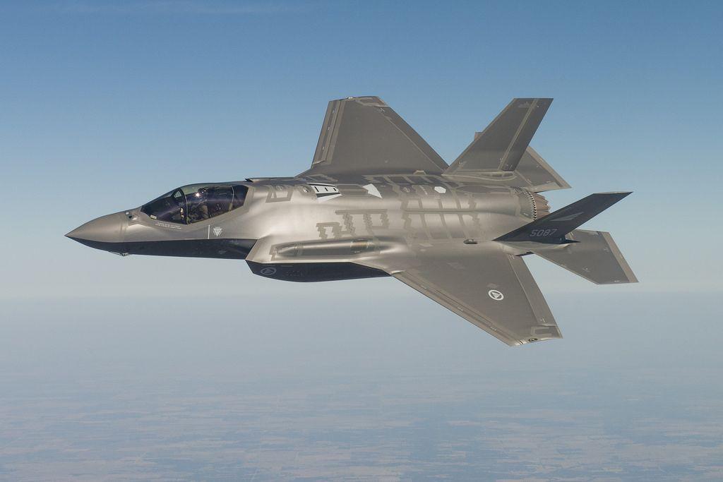 ВВС США впервый раз разместили группу истребителей F35 вСоединенном Королевстве Великобритании
