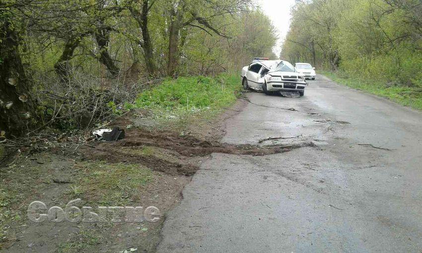 НаДнепропетровщине нетрезвый чиновник патрульной милиции устроил ДТП