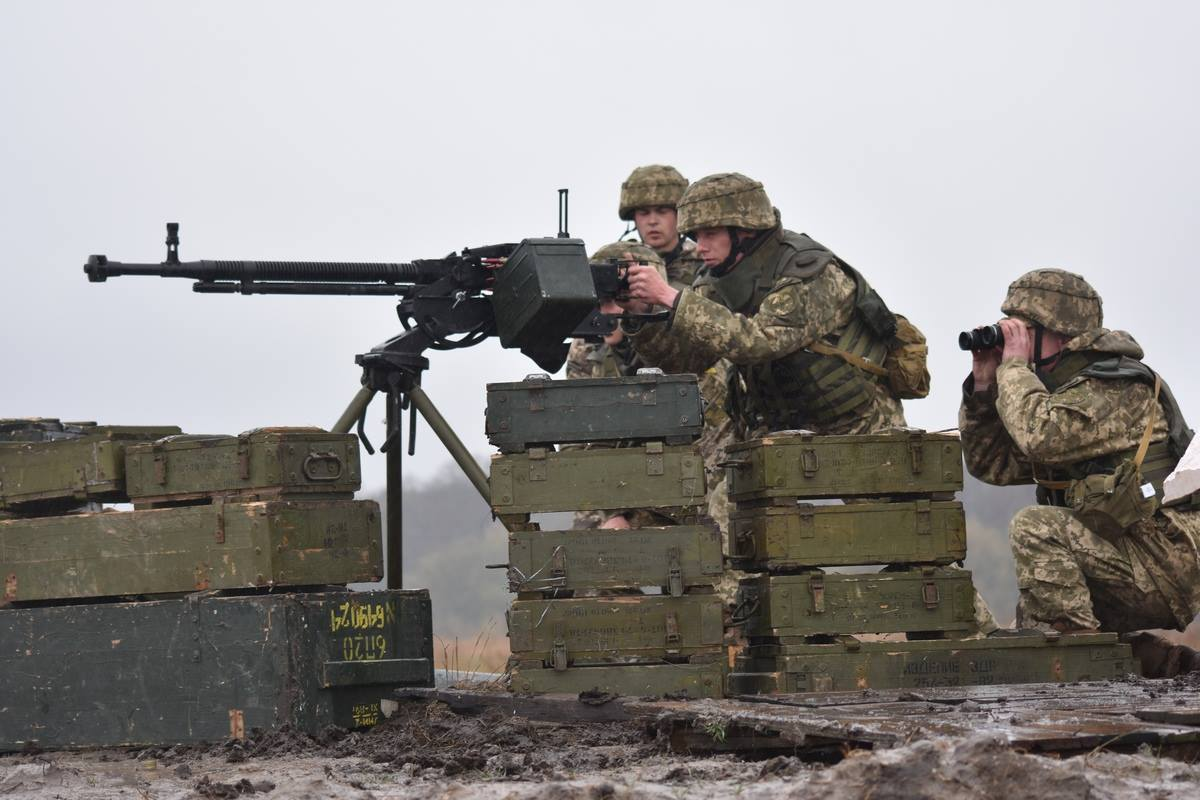 Рядом соккупированным Крымом пройдут учения ВСУ