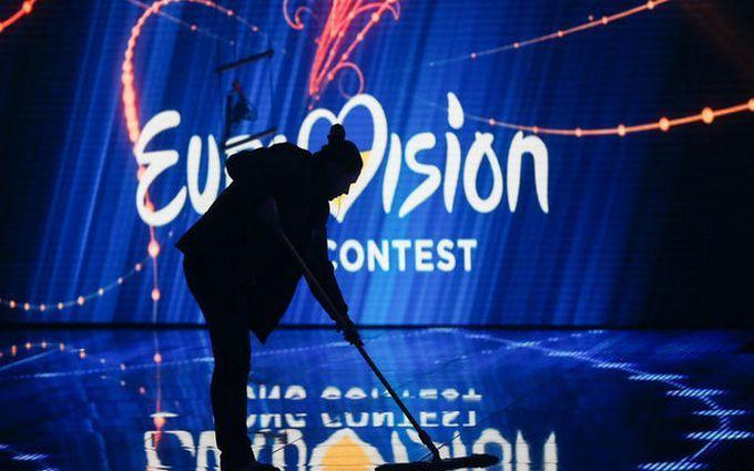 ВКиеве готова сцена «Евровидения-2017», размещены  фото