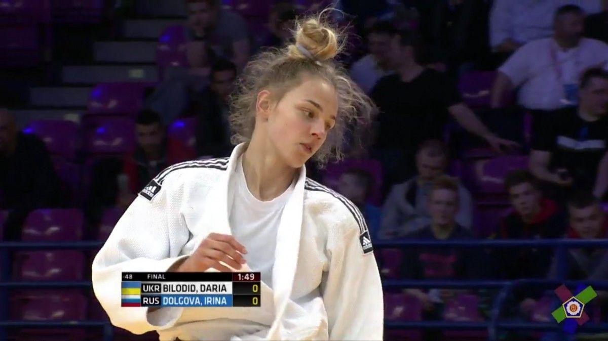 Россиянка Алеся Кузнецова завоевала серебро чемпионата Европы подзюдо
