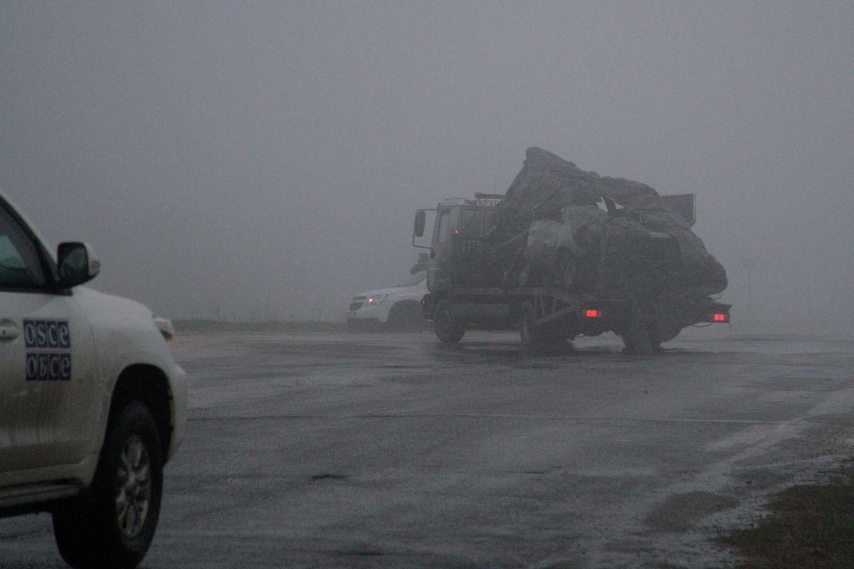 Тело погибшего наблюдающего миссии ОБСЕ передали Украине