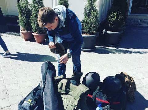 Корреспонденты канала ZIK осуществляли несанкционированную видеосъемку военного объекта