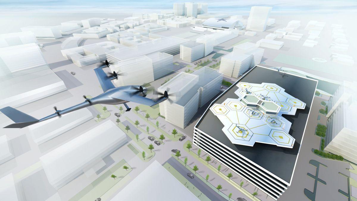 Uber может представить прототип летающего такси в 2020-ом