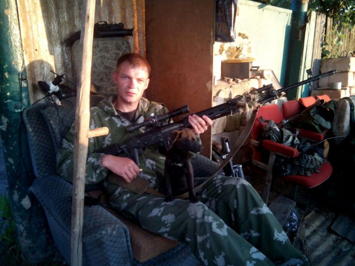 Русского снайпера устранили взоне АТО после долгой дуэли