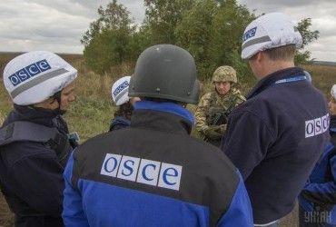 Місія ОБСЄ на вихідних зафіксувала понад 200 вибухів на Донбасі