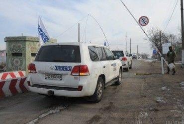 Бойовики не дозволили патрулю ОБСЄ проїхати через блокпост у Верхньошироківському