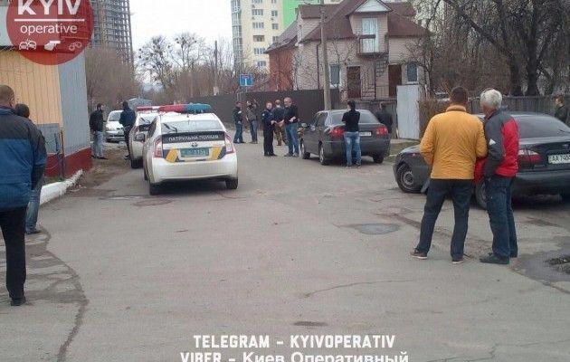 ВДнепровском районе столицы Украины наулице произошла стрельба, имеется пострадавший