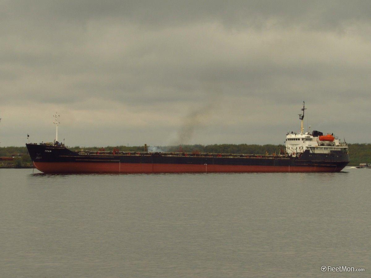 ВОдесский морской порт под русским флагом зашел танкер