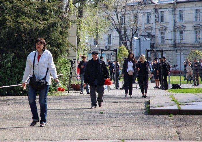 Намитинге вОдессе задержали четырех человек
