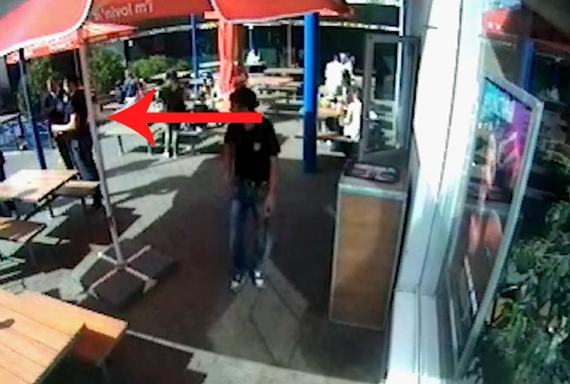 ВКиеве прохожий убил мужчину потому, что тот курил около ресторана