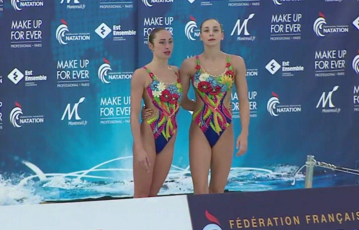 Украинская синхронистка выиграла золото наэтапе Мировой серии