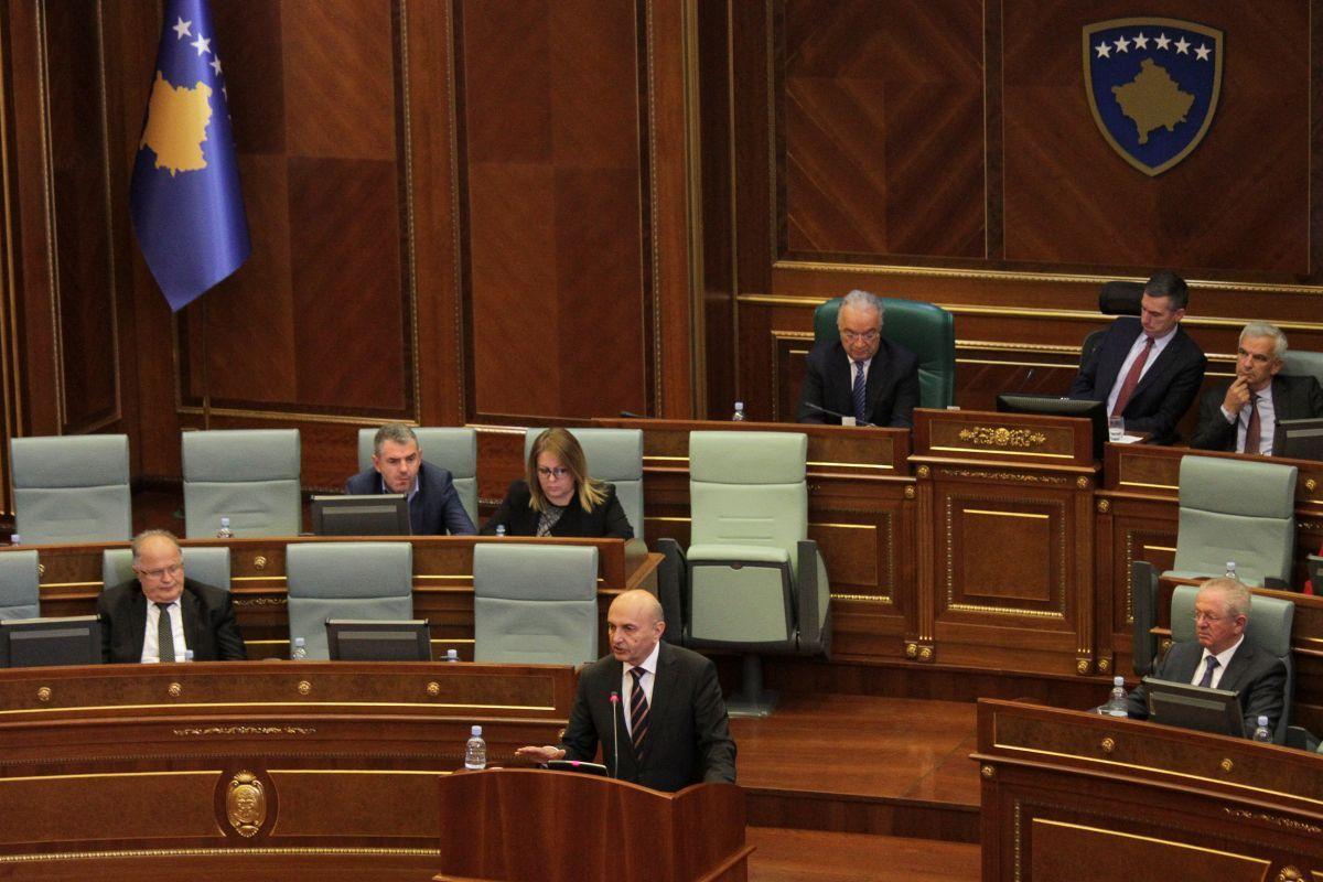 Парламент непризнанного Косова поддержал вотум онедоверии руководству Исы Мустафы
