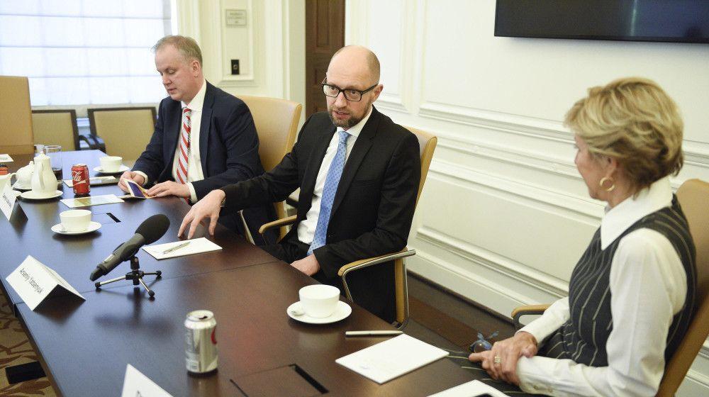 Яценюк: Международные партнеры ожидают от Украинского государства расстановки ипредсказуемости в финансовой политике