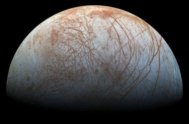 NASA ищет возможности полёта наспутник Юпитера