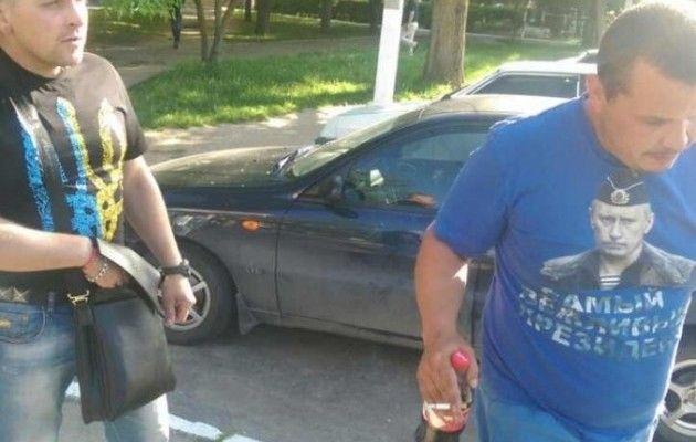 Боєць АТО змусив чоловіка зняти футболку зПутіним