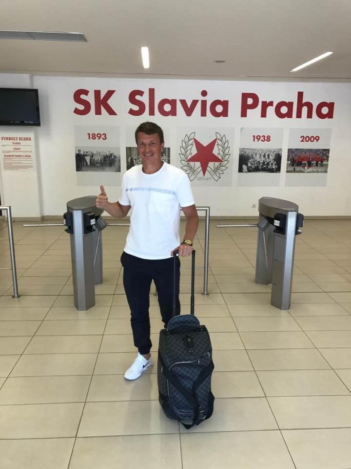 Руслан Ротань прибыл в Прагу и пройдет медосмотр в Славии
