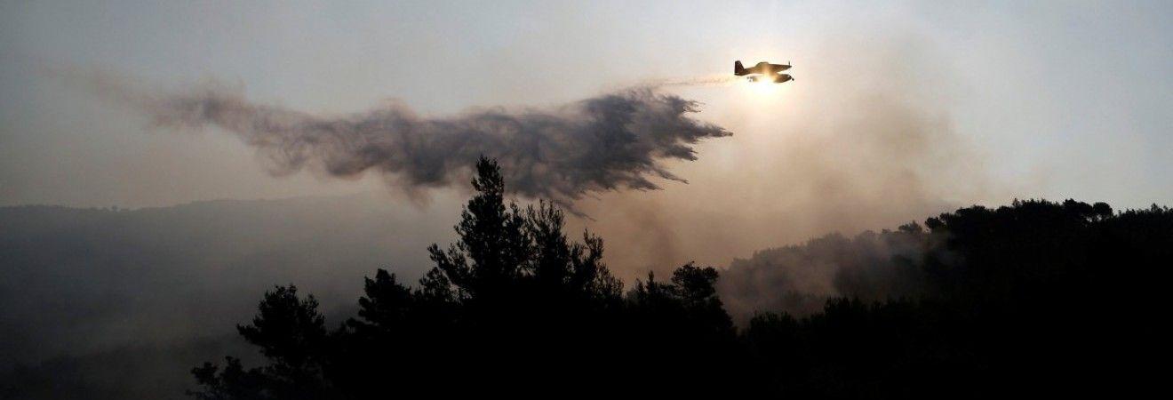 Хорватію охопили лісові пожежі