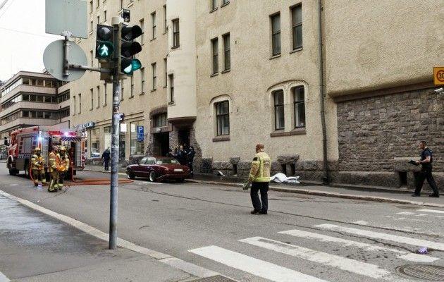 ВХельсинки автомобиль врезался втолпу людей, есть погибший