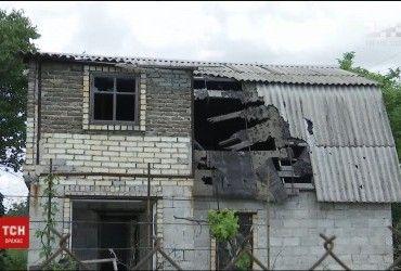 Обстріл бойовиками Авдіївки: терористи пошкодили приватний будинок