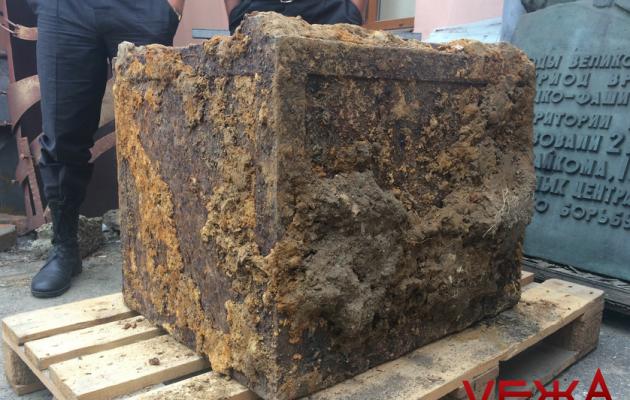 Музейщики собираются вскрыть сейф нацистов, выкопанный вВиннице