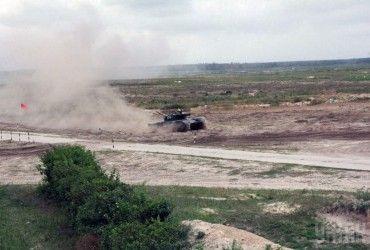 На Чернігівщині відбулись масштабні змагання танкістів (фоторепортаж)