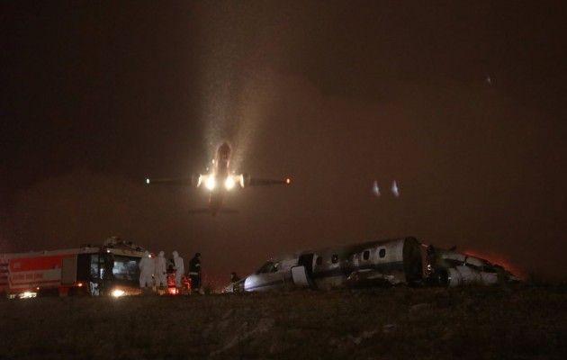 Приватний літак розбився утурецькому аеропорту