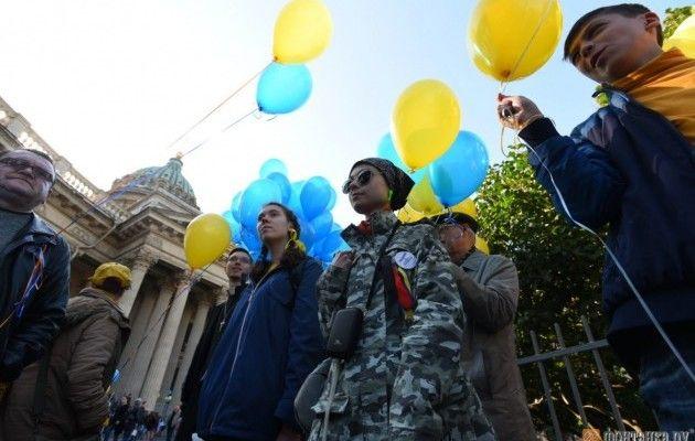 Несогласованный «Марш мира» вПетербурге обошелся без задержаний
