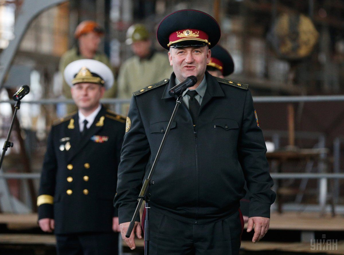 Zatrymanyj heneral-lejtenant Ihor Pavlovs'kyj / foto UNIAN