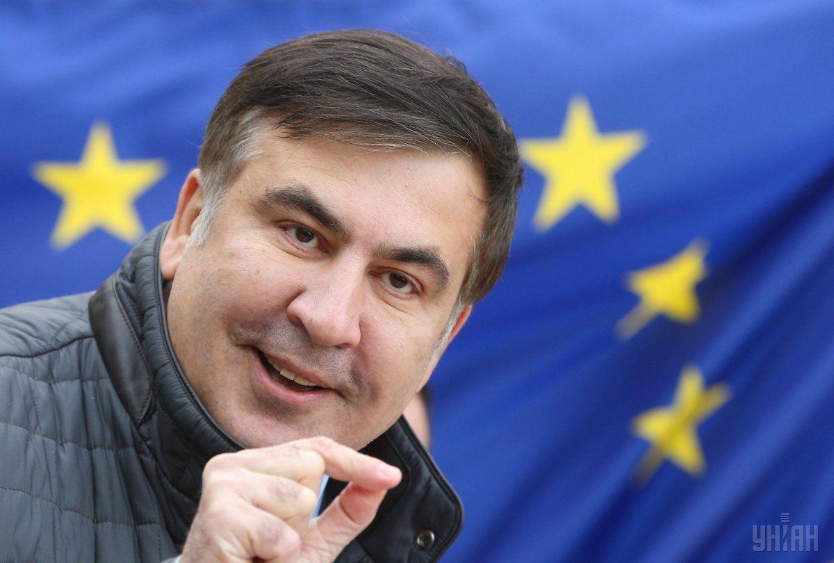 Saakašvili vydvoryly z Ukraїny 12 lyutoho / foto UNIAN