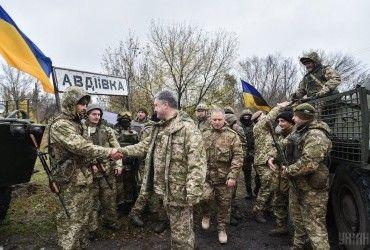 Порошенко анонсував ротацію підрозділів ЗСУ на Донбасі