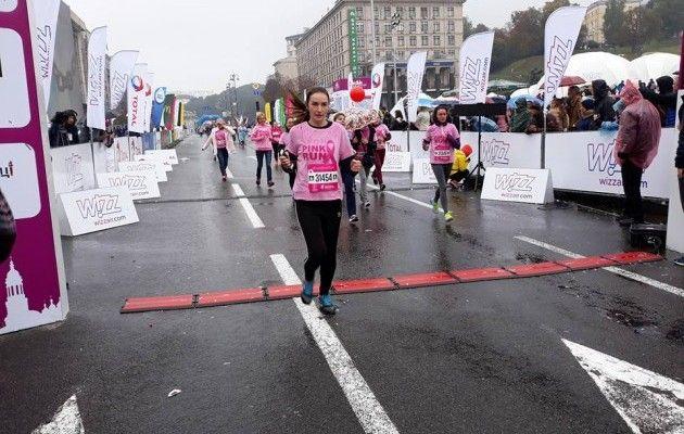 Киевский международный марафон на старт вышли более 10 тысяч человек из 52 стран