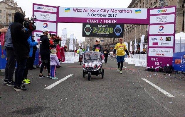 ВКиеве вовремя интернационального  марафона умер  участник