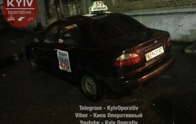 ВКиеве милиция устроила погоню за нетрезвым таксистом