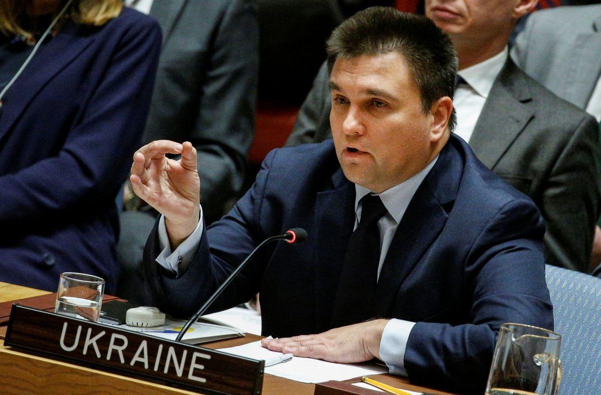 Pavlo Klimkin / REUTERS