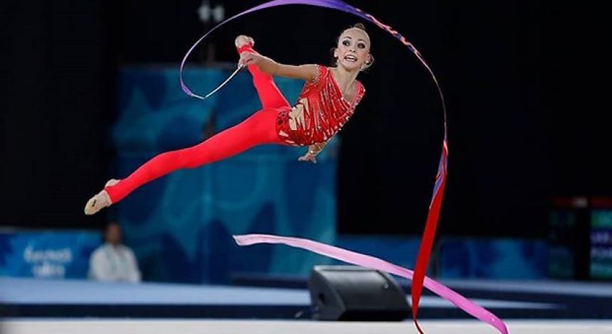 Himnastka Pohranyčna stala vice-čempionkoju JuOI-2018 z xudožnyoї himnastyky