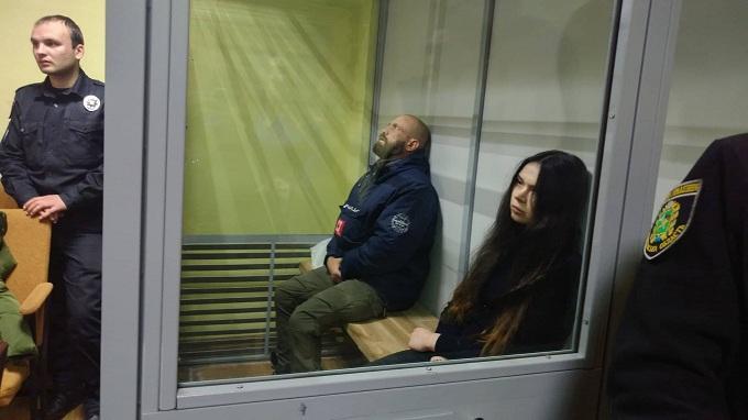 Dlya Zajcevoї vony prosyat' maksymal'ne pokarannya - desyat' rokiv uvjaznennya \ Foto: NewsRoom