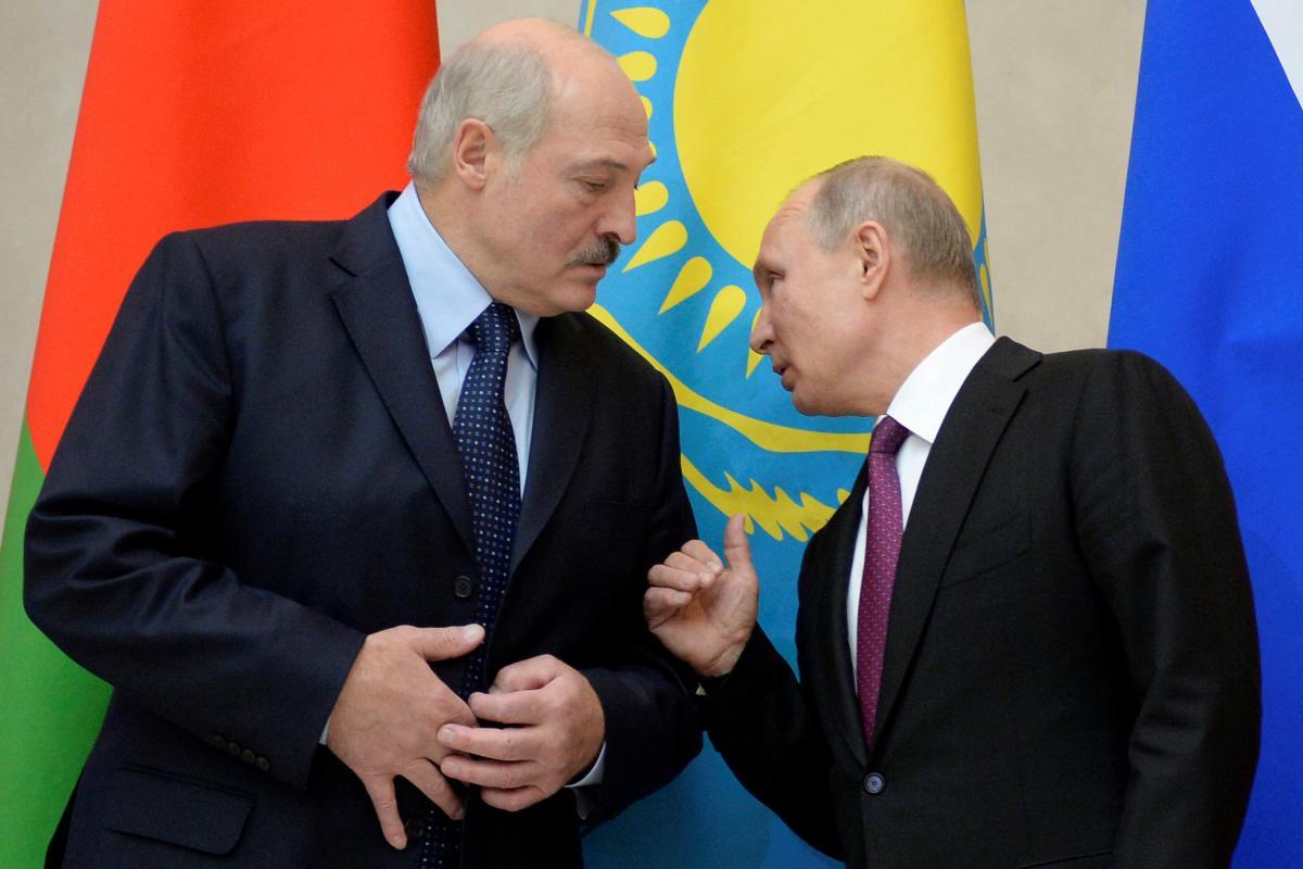 Oleksandr Lukašenko i Volodymyr Putin / REUTERS