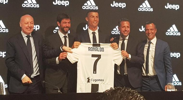 Z Ronaldu «Juventus» može vyhraty Lihu čempioniv, vvažaje Andrij Ševčenko / @juventusfcid