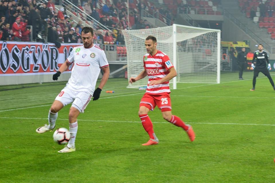 Artem Milevs'kyj proviv u Kišvardilyše polovynu sezonu 2018/19 / kisvardafc.hu