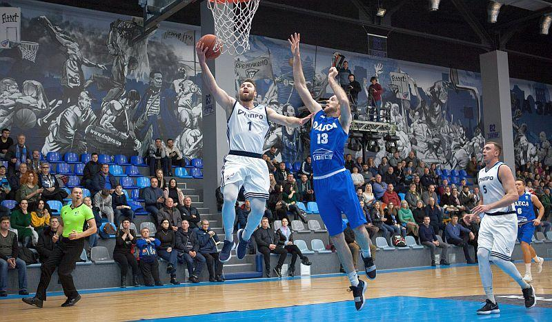 Basketbolisty Dnipra staly lideramy čempionatu Ukraїny / fbu.ua