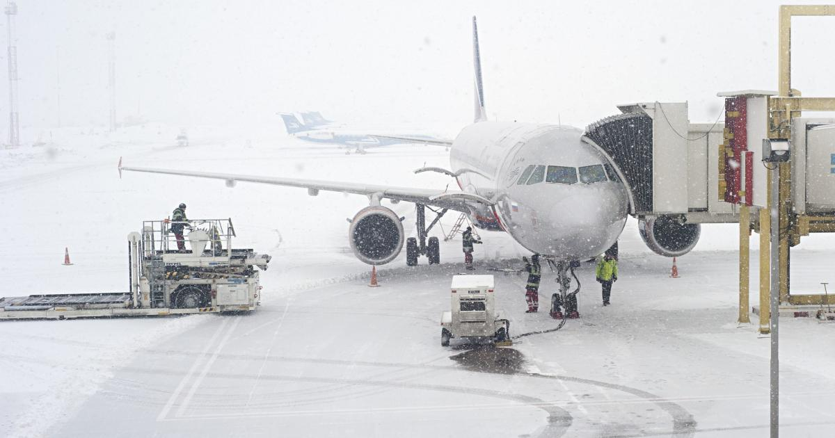 Непогода в Харькове: в аэропорту отменяют и задерживают рейсы photo