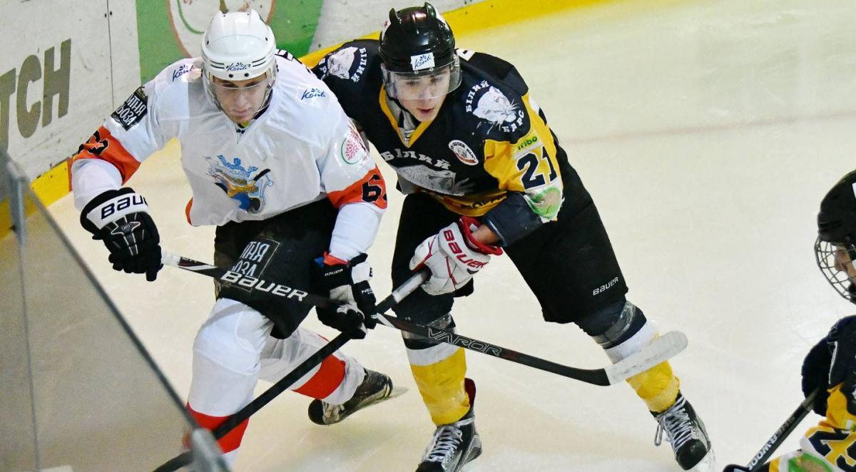 Камбек во втором периоде принёс «Кременчуку» победу над «Белым Барсом» в матче УХЛ photo