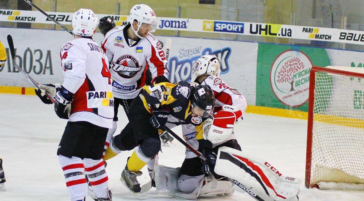 Ударний другий період приніс «Донбасу» перемогу над «Білим Барсом» та лідерство в УХЛ