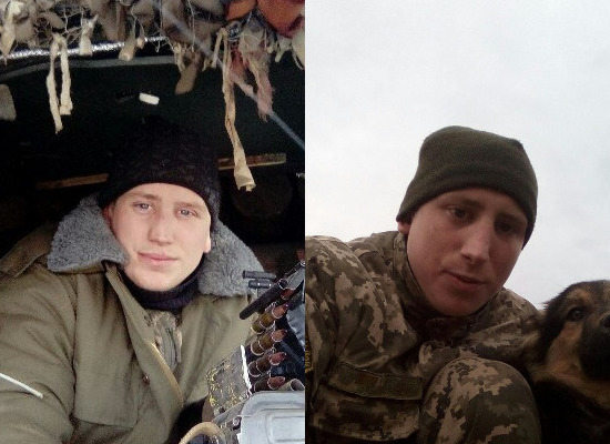 Beršads'kyj i Lyušnyak zahynuly na Donbasi / foto Cenzor.NET