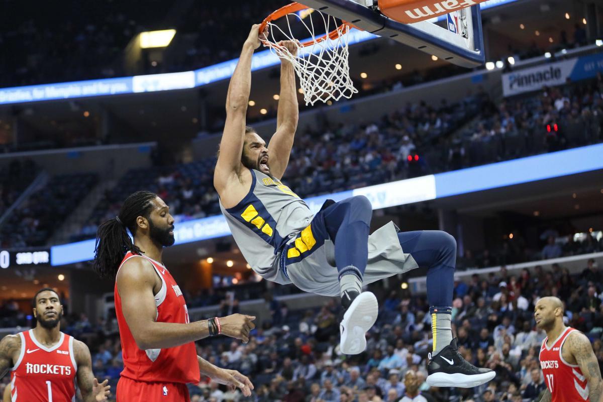 57 очков Хардена не помогли Хьюстону победить Мемфис, Чикаго обыграл Вашингтон в НБА